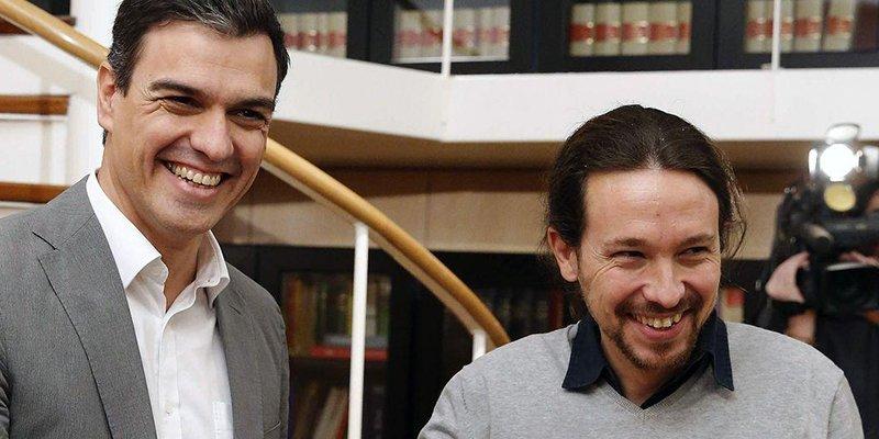 Pedro Sánchez sólo es el muñeco de Pablo Iglesias en la Moncloa