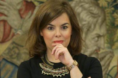 La exvicepresidenta Soraya Sáenz de Santamaría se convierte en mileurista