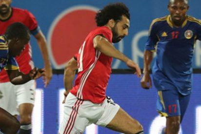 Así fue golazo olímpico de Mohamed Salah en las eliminatorias para la Copa Africana de Naciones