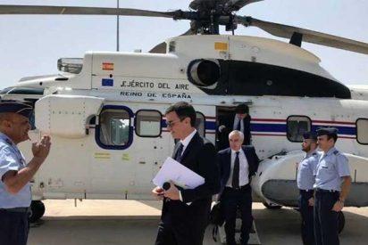 Pedro Sánchez no informa sobre la pasta que se gasta en el helipuerto de Moncloa alegando que es 'materia clasificada'
