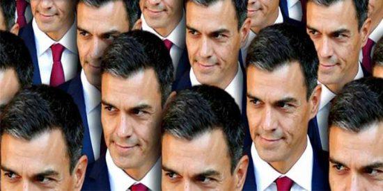 El 'okupa' Pedro Sánchez y su alergia a la democracia
