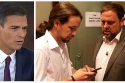 Este es el gran 'mérito' del indigno Sánchez: revestir de normalidad que Iglesias pacte en la cárcel los PGE
