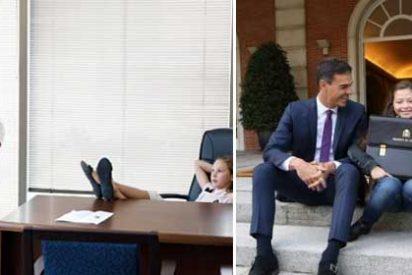 Sánchez lo plagia todo: el socialista vuelve a hacer un 'copy-paste' de la idea del canadiense Justin Trudeau
