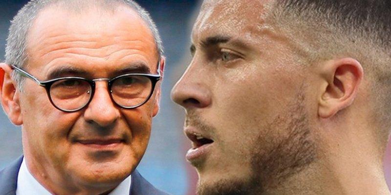 Así es el pacto Sarri-Hazard para su salida