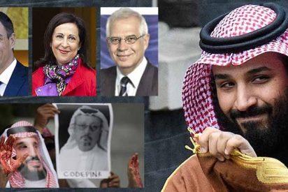 El Gobierno Sánchez no se suma a las críticas a Arabia Saudí por el 'Caso Khashoggi' y sigue vendiendo bombas a los jeques