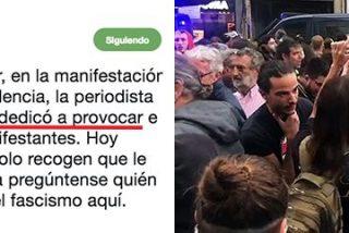 Esta es la propuesta podemita para Andalucía: no condenar la violencia si es de ultras contra Cristina Seguí