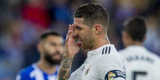 Cachondeo general en redes sociales con lo que ha dicho Sergio Ramos tras perder ante el Alavés