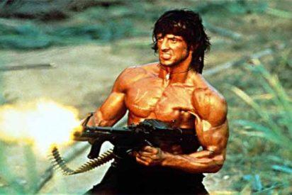 Las impactante primeras imagenes de Stallone en Rambo 5