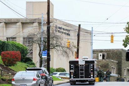 Un hombre mata a once personas en una sinagoga de Pittsburgh