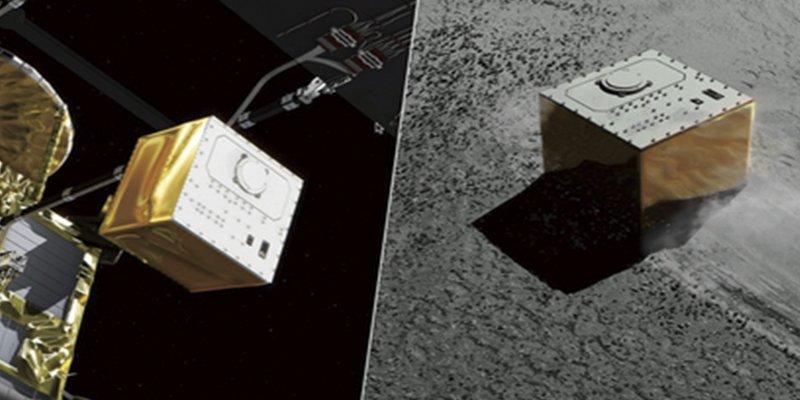 Esta sonda japonesa desembarca con éxito un robot de investigación en el asteroide Ryugu