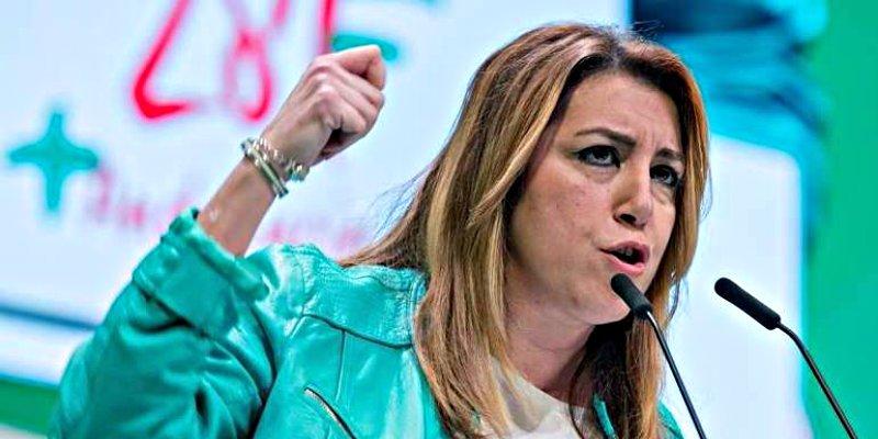 La zancadilla de Susana Díaz al velocista de Pedro Sánchez para no perder cabeza