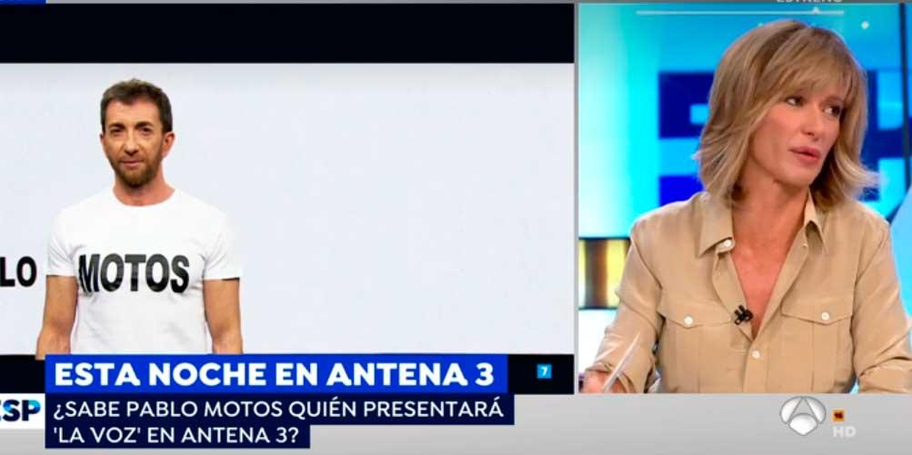 Monumental cabreo (en broma) de Susanna Griso con Pablo Motos