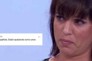 """El 'síndrome TV3' contagia a la izquierda: Talegón, la tonta útil del separatismo, dice que """"dará vergüenza ser española"""""""