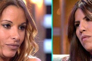 Techi, tras ser expulsada de la casa de 'GH VIP', mantiene un tenso cara a cara con Isa Pantoja