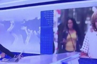 ¿Todavía no has visto la llorosa interrupción en pleno directo del 'Telediario' de TVE?
