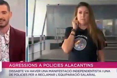 Un programa de la TV Valenciana, se niega a entrevistar en castellano a la portavoz de Jusapol