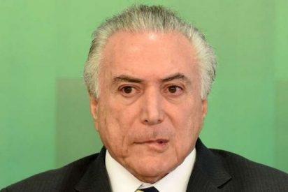 La policía Federal de Brasil solicita enjuiciar a Michel Temer por corrupción
