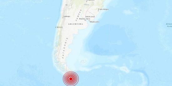 Un terremoto de magnitud 6,3 sacude el sur de Argentina
