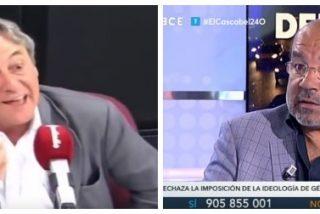 Tertsch pone en su sitio a Ángel Expósito al que le molesta el tremebundo repaso de Casado a Sánchez