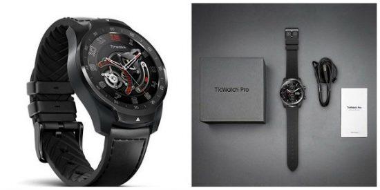 TicWatch Pro, un reloj inteligente de alta calidad que utiliza el sistema Wear OS de Google