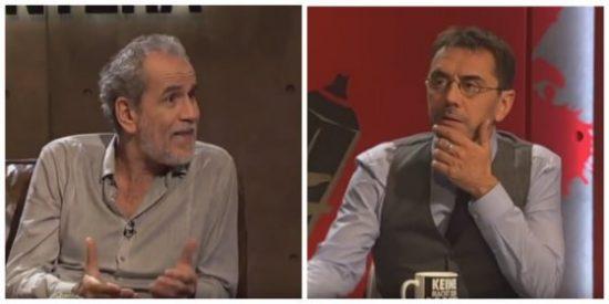 Monedero invita a Willy Toledo para una entrevista masaje... ¡y el actor acaba llamando mentiroso a Pablo Iglesias!