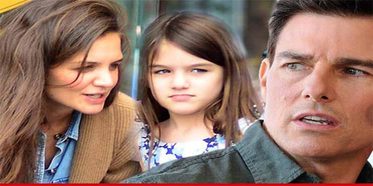 Por qué Tom Cruise no tiene contacto con Suri, la hija que tuvo con Katie Holmes