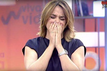 """Toñi Moreno apura sus últimos días en Telecinco con una bronca brutal: """"¡Esto no lo voy a permitir!"""""""