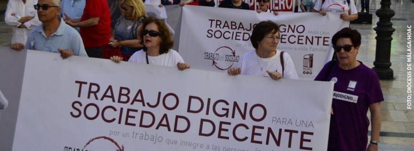 """""""Nuestro injusto marco laboral y social desplaza y descarta a millones de personas del acceso a un trabajo digno"""""""