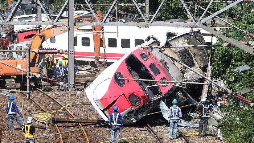 """El Papa expresa su """"profunda tristeza"""" por el accidente de tren en Taiwán"""