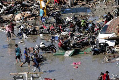 Este hombre grita desesperadamente para advertir del tsunami en Indonesia segundos antes de que sucediera