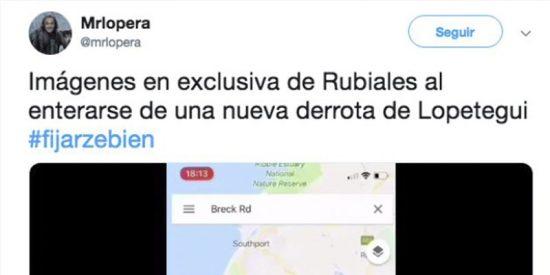 El mejor tuit que vas a ver sobre Lopetegui y la crisis del Madrid