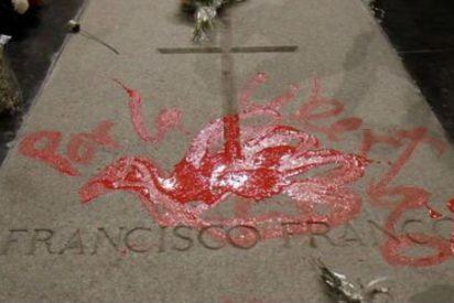 Profanan la tumba de Franco en el Valle de los Caídos