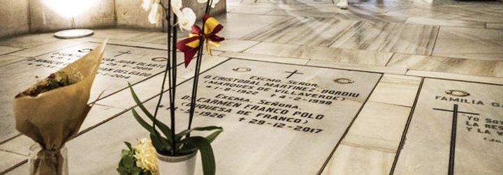 Grupos vecinales convocan una concentración en Madrid contra el traslado de Franco a la cripta de La Almudena
