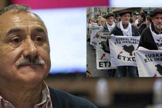 UGT le hace el trabajo sucio a Sánchez: apoya acercar terroristas etarras al País Vasco