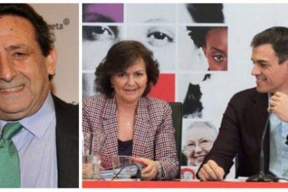 """Ussía se parte la caja con el hostión eclesial que se han pegado los """"burrísimos"""" Sánchez y Calvo con Franco"""