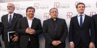 """Antonio Aradillas, a Fernández Vara: """"Te felicito por no ocultar tu ser creyente"""""""
