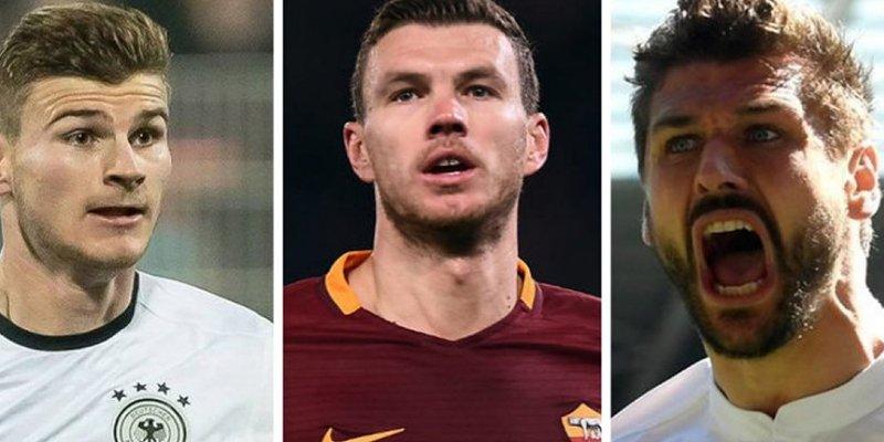 Estos son los '9' que podría fichar el Real Madrid en enero