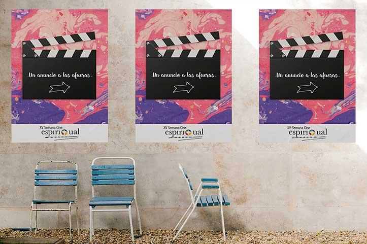 """""""Un anuncio a las afueras"""", lema de la Semana de Cine Espiritual"""