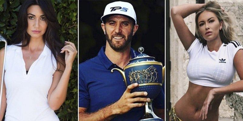 El golfista Dustin Johnson acusado de infiel