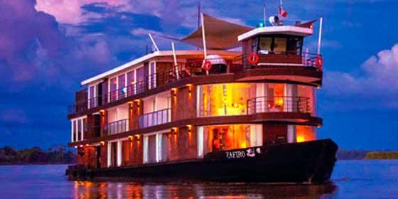 Siente los latidos del Amazonas a bordo de un crucero de lujo
