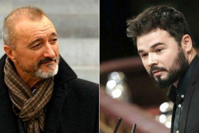 """La sentencia de Pérez-Reverte sobre la """"gentuza"""" del Congreso tras ser expulsado Rufián"""