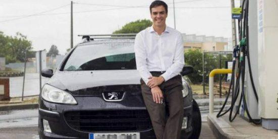 El trasto de coche contaminante que tiene Sánchez le baja los humos a la primera de cambio