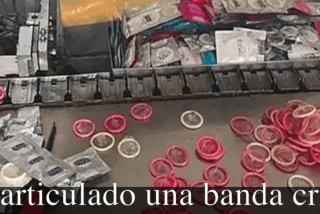 Desarticulan una red de falsificación y reciclaje de condones ¡500.000 cajas de preservativos son de la marca Durex!