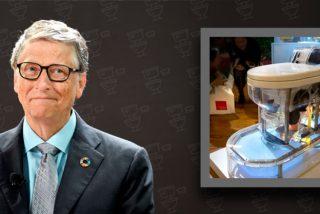 Así funciona el váter futurista de Bill Gates que no necesita agua