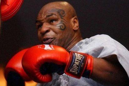 """Mike Tyson en la rueda de prensa antes de la pelea: """"Estoy listo para la guerra"""""""