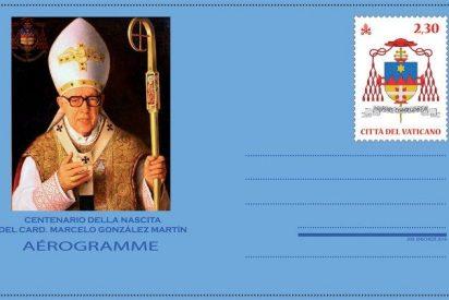 El Aerograma vaticano de 2018, dedicado al cardenal Marcelo González Martín