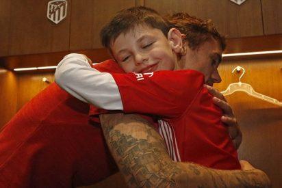 """Así es Manu, el niño argentino que """"trajo suerte"""" al Atlético de Madrid"""