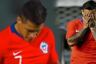 La enorme cagada de Alexis Sánchez en Chile-Costa Rica: intentó picar un penalti y quedó en ridículo