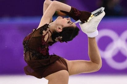 Alina Zaguítova establece un nuevo récord mundial de patinaje individual