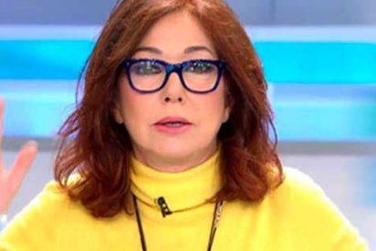 Ana Rosa provoca a los supersticiosos vistiendo de amarillo en martes y 13